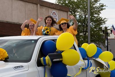 IC grad parade 2020