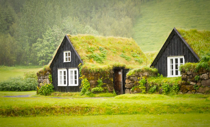 Turf house museum Iceland