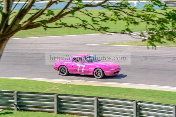 EC 77 Pink Miata