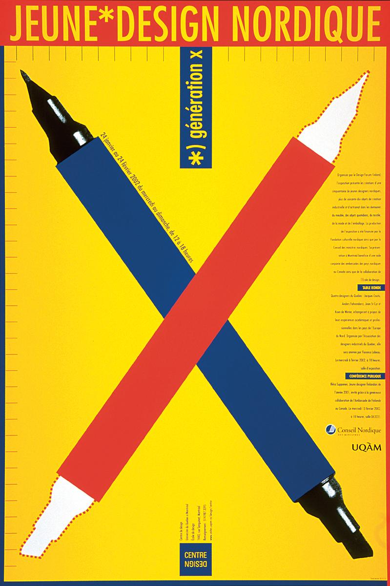 2002 - Exposition - Jeune Design nordique Génération X ©Alfred Halasa