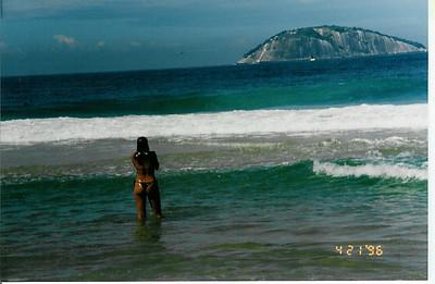 Brazil-Rio de Janeiro, Ipanema Beach