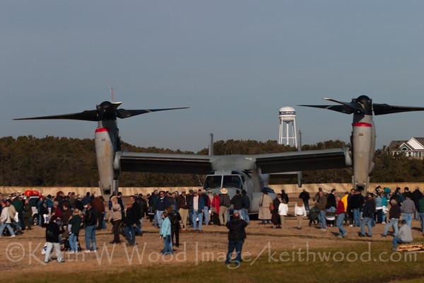V-22 Osprey at Kitty Hawk