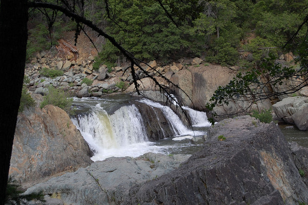 Journal Site 125:  Indian Falls, Quincy, CA - June 9, 2009