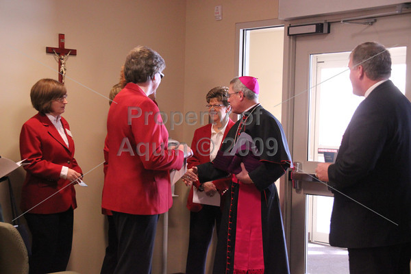 presence center dedication . 2.25.13