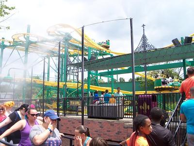 Six Flags July 9, 2016