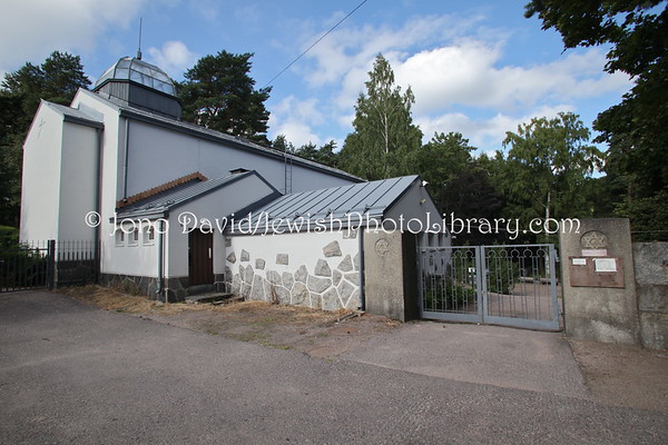 FINLAND, Helsinki. New Jewish Cemetery. (8.2011)