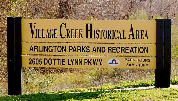 2017 Village Creek Historical Area