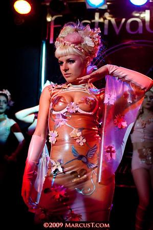 December 2009 - Am-Statik Fashion Show - Festival of Sins