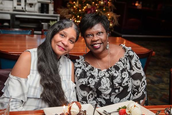 Trina & Bernice 58th Birthday Dinner 120518