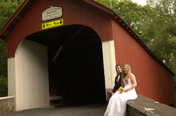Trudy & Bryan's Wedding - Covered Bridge Portraits (by Anna Lisa)