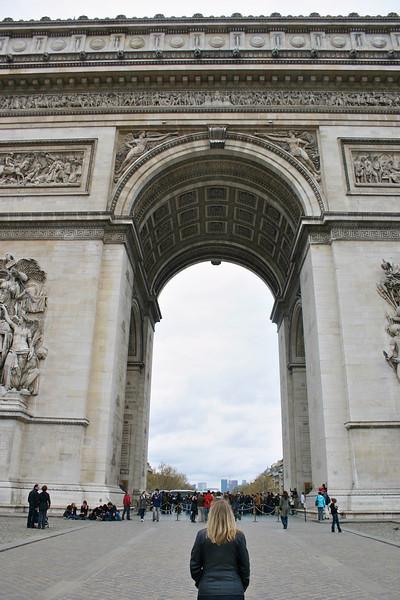 Arc De Triomphe- Paris