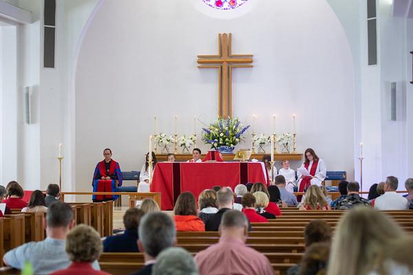 Pentecost 2019   thank-you Mother Linda