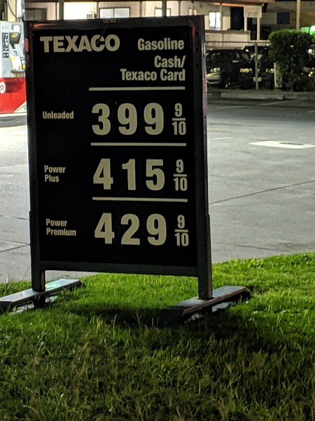 Current price in Florida is $2.06