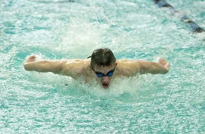 St. Charles North boys swim invite