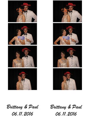 Brittany (Marion) & Paul Cornelius Photo Booth 06/11/2016