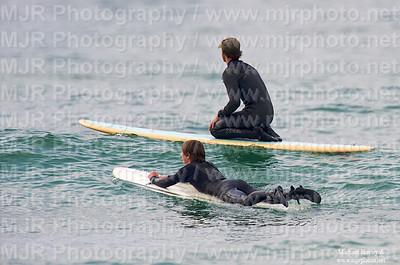 Corey Surf Lessons 2009