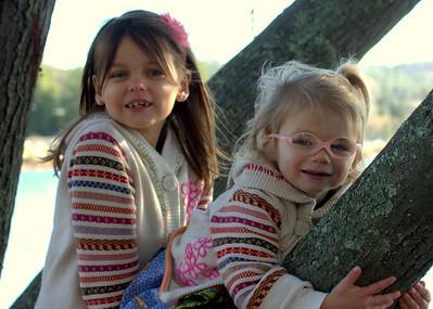 Sami and Stella at Cameron Park Lake
