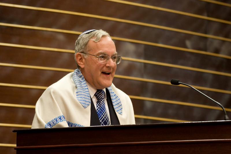 Larry Sidman -- Siyum HaTorah -- Beth El's Project 613: Writing a Torah