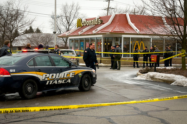 Carpentersville Shooting leads to chase - Jan. 17, 2012