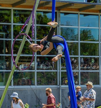Set seven, UMO Aerial Show 1 at Ober Park, Vashon Island Strawberry Festival 2019