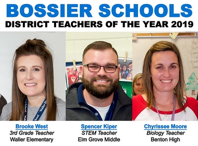 Teachers of the Year - District Winners 2019