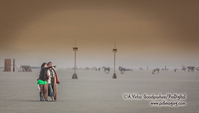 The playa is a huge flat expanse. Walk in any direction and you'll discover something fascinating.