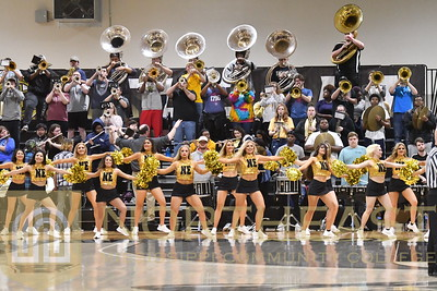 2019-02-07 BAND Pep Band at Basketball Game