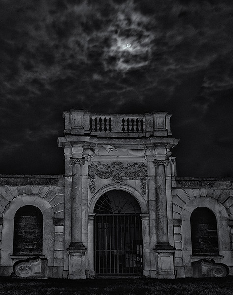 Full Moon at Copped Hall