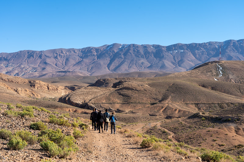 Hiking in Midelt, Morocco