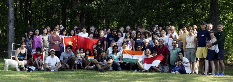 TAB Internationals at Lake Gaston