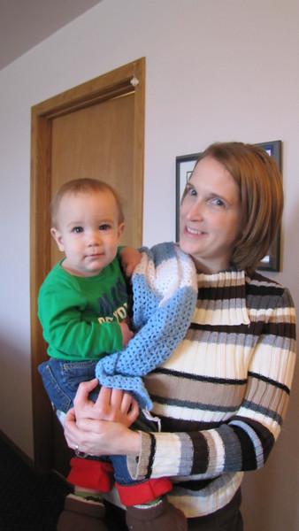Sarah (Grisham) Kline and Elijah