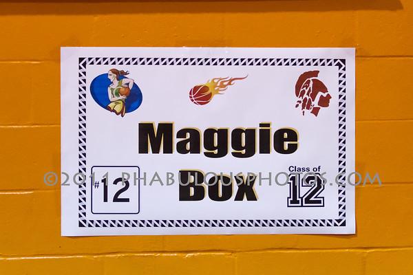 East River @ Boone Girls Varsity Basketball - 2012