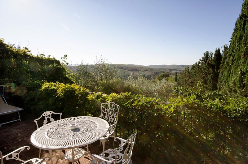 Morning on our verandah