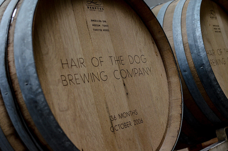 1219 aged  Barrels left over from a commemorative brew.