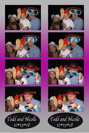 Nicky and Todd's Wedding 10-19-18
