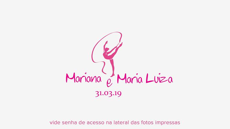 Mariana & Maria Luíza 31.03.2019