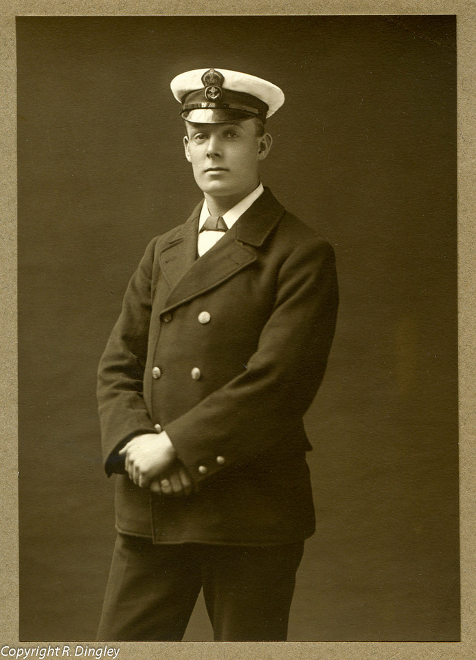 Alf Russell aged 22.