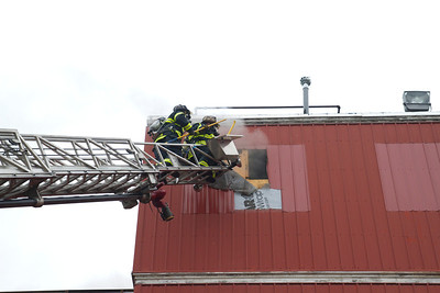Strong Pellet Mill Fire - February 23rd, 2012
