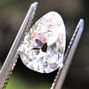 2.49ctw Antique Pear Diamond Pair GIA E VS2/GIA D VS2 4