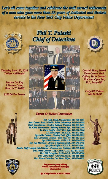 Chief Phil T. Pulaski Retirement Event