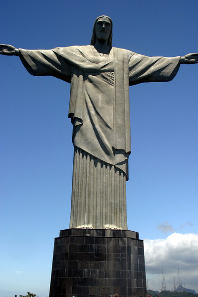 The statue of Christ The Redeemer, 2004