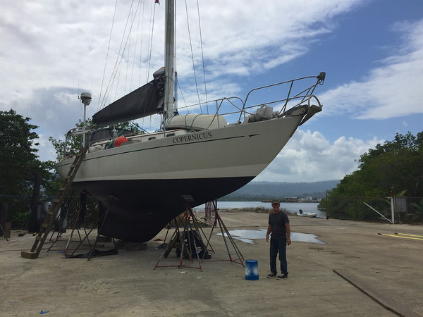 Haul Out at Bocas Boat Yard 2016