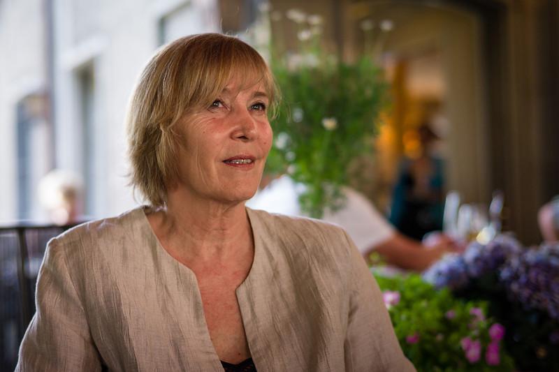 Autorin und Historikerin Monika Dettwiler. (Foto für Thurgaukultur.ch)  Frauenfeld, Juli 2012.