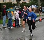 2003 Comox Valley Half Marathon - Jani Haysom finds a killer kick