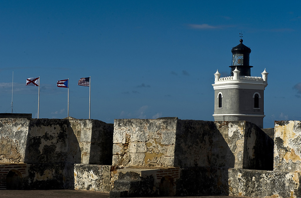 . The San Felipe del Morro castle, UN World Heritage since 1983, in San Juan, on August 1, 2010.The San Felipe del Morro Fort is a fortification built in XVI century the north end of San Juan Puerto Rico.  International economists released a critical report on Puerto Rico\'s economy Monday, June 29, 2015,  on the heels of the governor\'s warning that the island can\'t pay its $72 billion public debt. (LUIS ACOSTA/AFP/Getty Images)