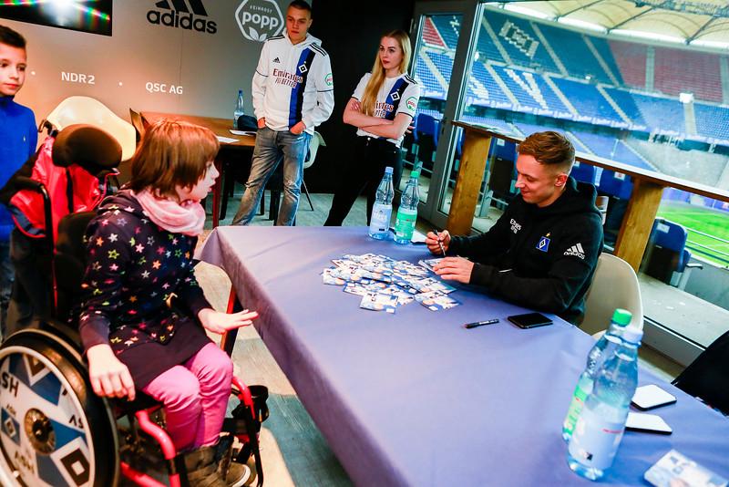 Hamburger SV Autogrammstunde