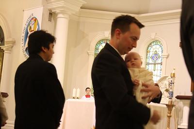 Sean's Baptism & Reception 2016