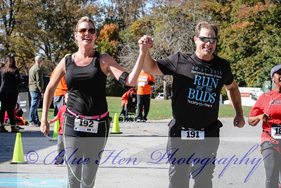 October 17, 2015 - 10K - Run for the Buds