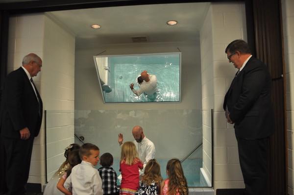 Olivia Baptism