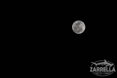 """Full Moon on the Beach"" (Ft. Lauderdale, Florida)"